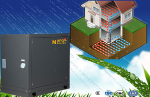 Ground Water Source 50Hz/1pH 10.4kw Geothermal Heat Pump