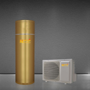 Residential Home Use Split Air Source Heat Pump Water Heater 100L-500L