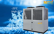 R407c Heating+Hot Water Air to Water Low Temperature Heat Pump TUV Certified
