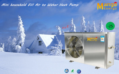Mini Household Evi Air to Water Heat Pump for Hot Water and Flooring Heating