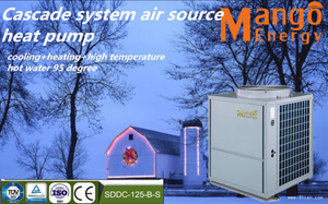 Ventilation Air All in One Heat Pump with Energy Recovery, Fresh Air Heating and Cooling and Hot Water