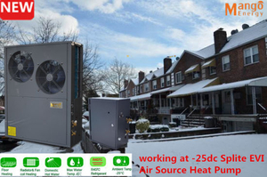 Splite Heating System Evi Air Source Heat Pump for Floor Heating