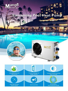 2018 Hot Sale Air Source Domestic Swimming Pool Heat Pump for SPA