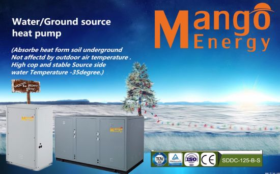 High Quality Geothermal Source Heat Pump Sale in Europe (CE, CCC, ISO9001)