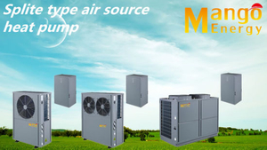 Splist Evi Air to Water Air Source Heat Pump for Cold Weather (heating and cooling)