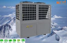 Big Heating Capacity Commercial Evi Air to Water Heat Pump for Floor Heating