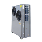 Side fan heating mode air to water heat pump for hot water or floor heating with TUV certifites