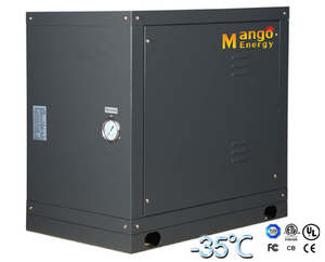 Water/Geothermal Source Heat Pump Heating and Cooling Mode, Monolock Type