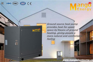 Geothermal Heat Pump for Heating and Hat Water (CE, RoHS, SASO)