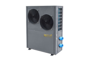 Swimming Pool Air Source Heat Pump Outlet Water of 28deg-40deg (CE CCC TUV) with Titanium Foam