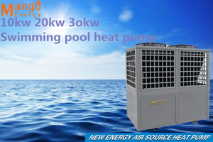 Cop6.19 R417 Swimming Pool Heat Pump Heater with Titanium Heat Exchanger
