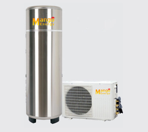 6.5kw Heating Capacity Air Source Heat Pump with 300L to 500L Tank