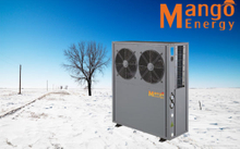 Household Air to Water Heat Pump for Floor Heating and Cooling