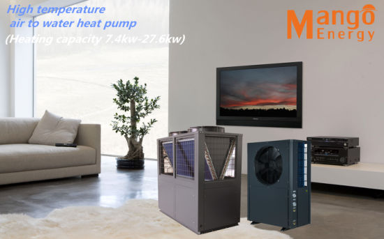 220V~415V/50Hz/60Hz 80degree High Temperature Air to Water Heat Pump