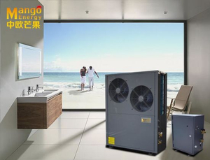 Split Evi Air Source/Air to Water Heat Pump Heating and Cooling Model Work at -25degree