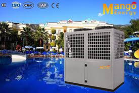 Super Corrosion Resistance Air to Water Swinmming Pool Heat Pump