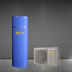 Multi-Color Water Tank Air to Water Heat Pump Supply Hot Water